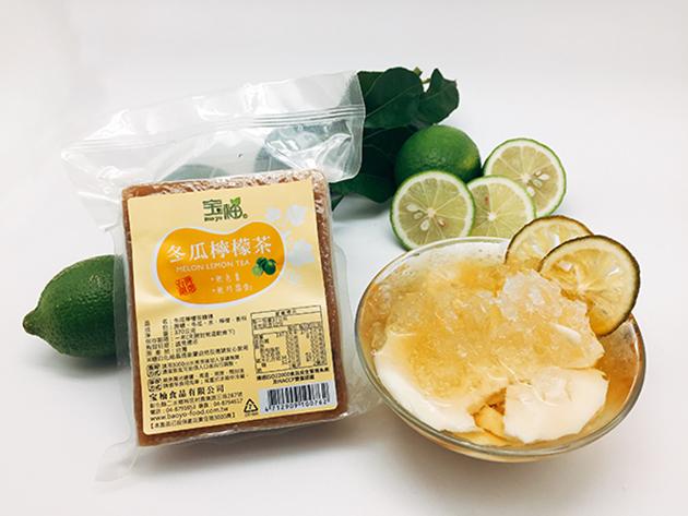 冬瓜檸檬茶磚 2